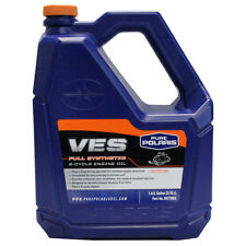 Polaris Snowmobile VES II Synthetic Gold 2-stroke Engine Oil GALLON 2877883