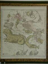Antique Elijah Burritt Astrological Map of the Constellations 1835