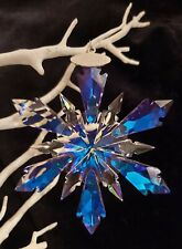 Frozen Swarovski Element Effect Snowflake Christmas Tree Ornament Decoration