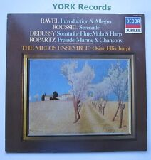 414 063-1 - RAVEL Introduction & Allegro THE MELOS ENSEMBLE - Ex Con LP Record