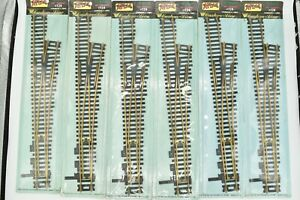 Atlas #124 Custom Line HO #6 Right Hand Turnout Formerly 6RC Brass Sealed NOS