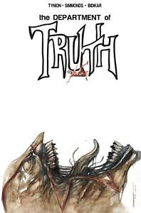 Department of Truth #10 | Gorkem Demir Venom 3 Homage Variant