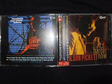 CD WILSON PICKETT / IT'S HARDER NOW / JAPAN PRESSAGE / RARE /