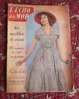 1956 L'écho de la mode N°29 Hebdomadaire féminin vintage couture rétro