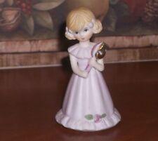 Enesco Growing Up Girls 5Th Birthday Doll Figurine - Blonde Hair
