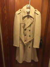 men's J.Riggings trench coat deadstock vintage union made in USA size 42