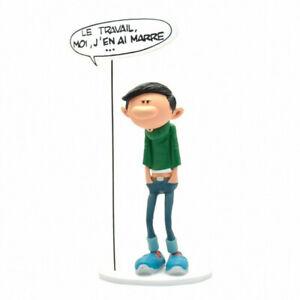 Gaston Lagaffe statuette Collection Bulles Le Travail J'en ai Marre Collectoys