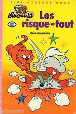 Les Risque - tout / Les Entrechats // Jean CHALOPIN // Bibliothèque Rose // 1 Ed