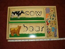 Melissa and Doug See and Spell *Collector Item: Manufacturer's Defect*