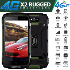 Unlocked Android 4G LTE Rugged Smartphone Builder Cell Phone Dual SIM Mobile GPS