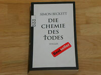 Simon Beckett Die Chemie des Todes Thriller Bestseller RORORO Verlag