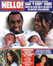 HELLO MAGAZINE #956 SEAN 'P DIDDY' COMBS, JENNIFER LOPEZ, JERMAINE JACKSON