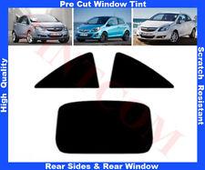 Pellicola Oscurante Vetri Opel Corsa D 3 Porte 2007-2013 5%, 20%, 35% o 50%