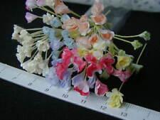 40 miniature tiny Mulberry fleur maison de poupées en couleurs assort 1:12 Handmade