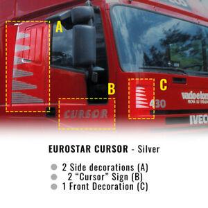 Decor Kit Decorazione Adesiva Eurostar Cursor, Argento