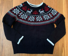 Charter Club Holiday 4T Girl Toddler Sweater Excellent Condition