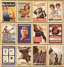 Lot of 32 Vintage Postcards Advertising Album Poster War II History Post Cards