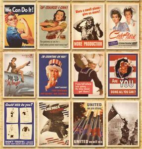 Lot of 32 Duplicate Postcards Advertising Album Poster War II History Post Cards