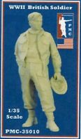 PMC 1:35 WWII British Soldier Resin Figure Kit #35010