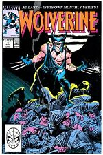 Wolverine #1 First Printing! 1st App Patch Series X-Men Old Man Logan Movie 1988