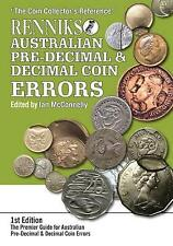Renniks Australian Pre-Decimal & Decimal Coin Errors by Ian Mcconnelly (Paperback, 2015)