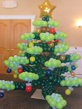 "5"" Christmas Assorted Red & Green Latex Balloons x-mas festive fun helium/air"