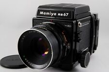 【EXC+++++ 】Mamiya RB67 Pro SD Sekor C 127mm f/3.8 w/ Motorized 6x8 Film Back