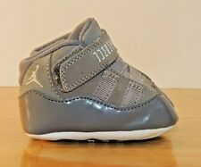 Infant Nike Air Jordan Crib Baby Shoes Sneakers Booties 1C Retro Space Jam Grey