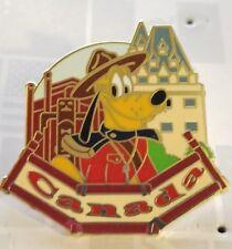 Disney Pin Epcot World Showcase Canada Pin Pluto Free Shipping