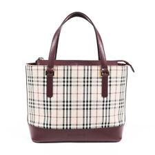 Vintage Burberry Nova Check Handbag