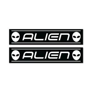 2X Workshop For Aliens Sticker Decal Alien Area 51 Space Storm Funny Ufo