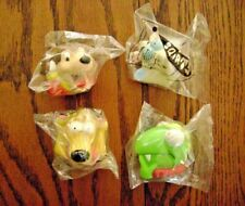 "1999--WIENERZOOD ""Squirts"" (Complete SET of 4-Toys) by Wienerschnitzel [NIP]"