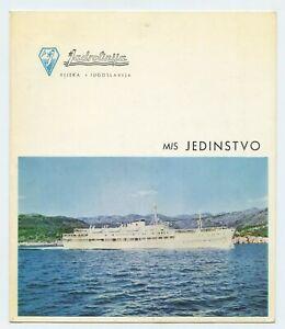 M/S Jedinstvo Masters Welcome 1971 Jadrolinija LIne