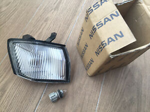NissaN S14 Kouki R SIDE Oem Clear Corner Light Silvia 200SX 240SX s14a 97 98