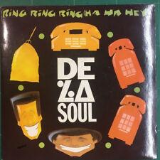 """De La Soul – Ring Ring Ring (Ha Ha Hey) 7"""" Vinyl BLR42 1991"""