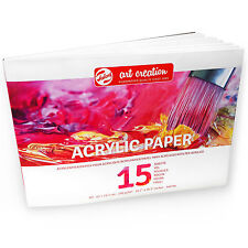 Royal Talens – Art Creation A3 Acrylic Paper – 15 Sheets – 290 gsm – Landscape