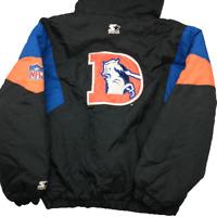 Vintage Denver Broncos Men's XL Pullover Starter Proline Jacket Rare