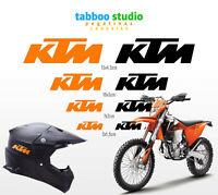8 Adesivi KTM stickers Casco Moto Stickers Duke Superduke Adventure Supermotard