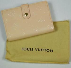 Louis Vuitton Limited ED Marshmallow Vernis Monogram Kiss Lock MI0044 Wallet