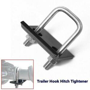 Anti-Rattle SUV Trailer Hook Hitch Tightener Stabilizer Bracket Ball Mount Clamp