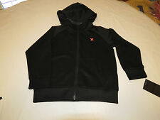Hurley Little Boys Scuba jacket hoodie 7 NEW surf 881582 023 black