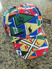 Polo RALPH LAUREN Cap Nautical Sailing CP93 Pennant Burgee Flag Yacht Club Hat