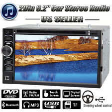 For Ford 6.2'' 2Din CD DVD Player Car Radio Stereo Bluetooth Touch Screen Unit