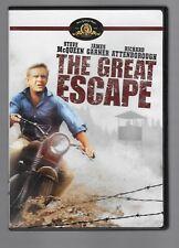The Great Escape - Dvd - Steve McQueen - James Garner Richard Attenborough 1963