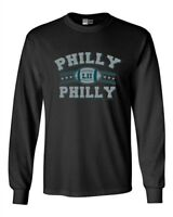 Long Sleeve Adult T-Shirt Philly Philly Philadelphia Champ Football Sports DT
