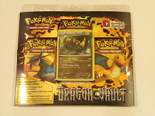 POKEMON CCG DRAGON VAULT 3-pack factory sealed Blister - HAXORUS