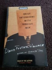 New- Brief Interview With Hideous Men By David Foster Wallace Audiobook 2 Casset
