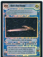 Star Wars CCG Reflections 3 III Foil Queens Royal Starship