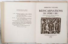 Georges ROUAULT : Père UBU 104 BOIS GRAVES + 22 GRAVURES SIGNEES # VOLLARD 1932