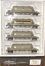 "NPCF X3 Cement-NGNF X1 Grain Hoppers NSWR ""Casula Hobbies RTR Models Pk NPCF-03"